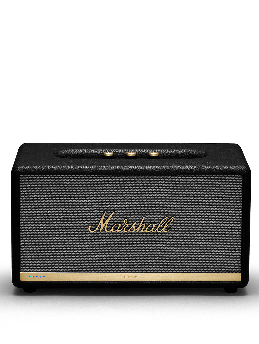 MARSHALL Stanmore II Voice Speaker Google Assistant Designers Black
