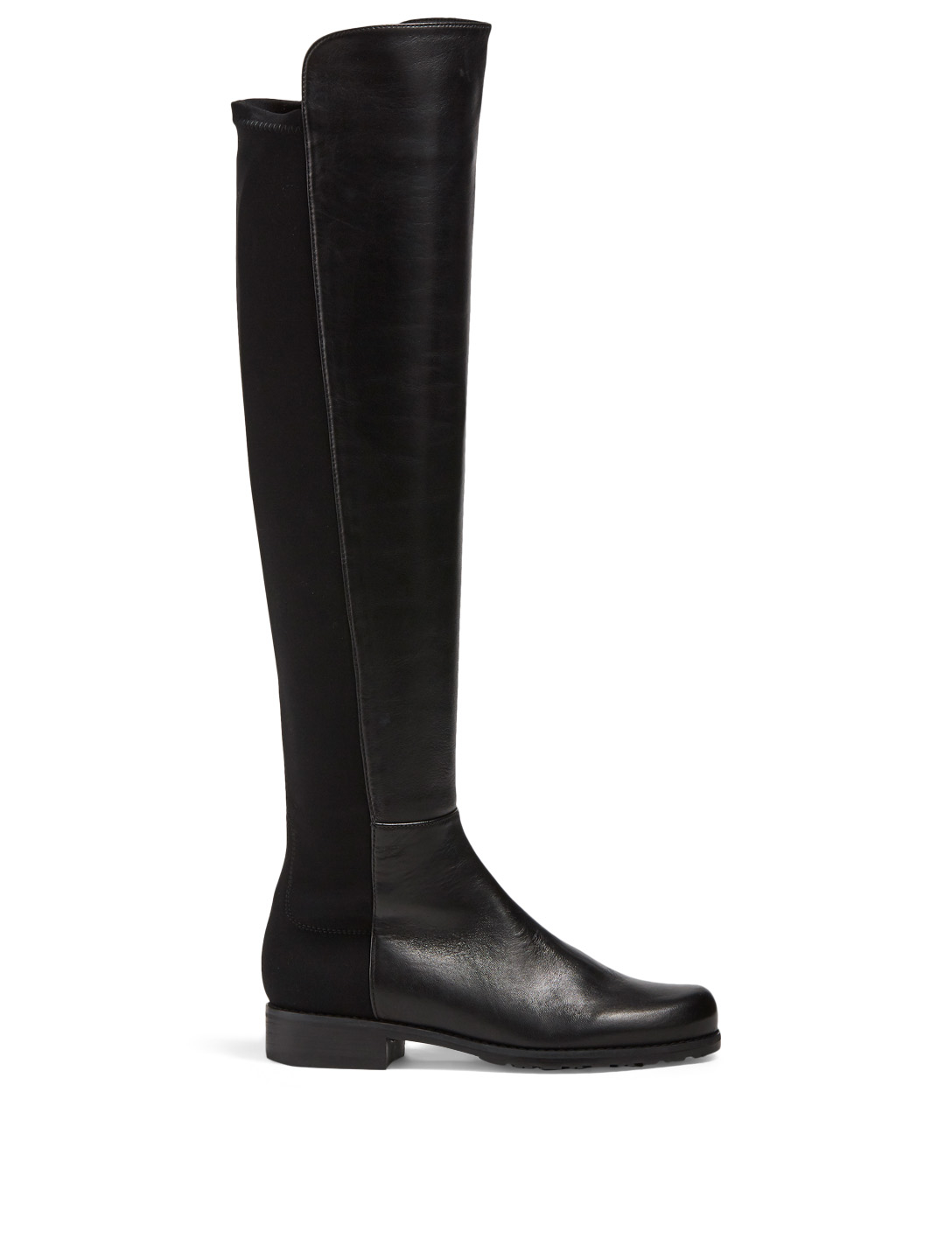 STUART WEITZMAN 5050 Leather Knee-High Boots Women's Black
