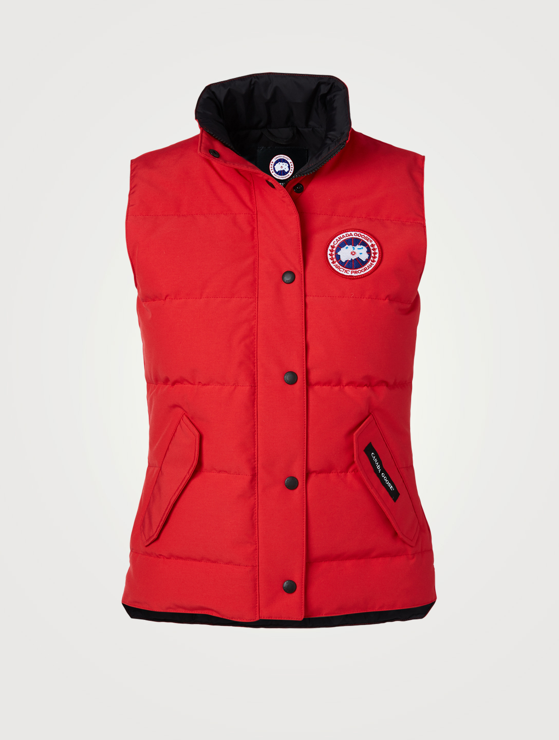 CANADA GOOSE Freestyle Down Puffer Vest Women's Red