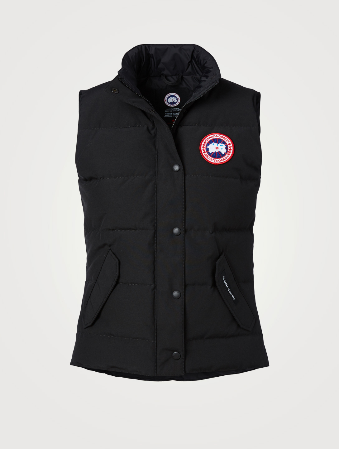 CANADA GOOSE Freestyle Down Puffer Vest Women's Black