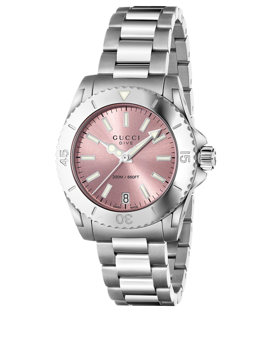 119afd4225f GUCCI Gucci Dive Stainless Steel Bracelet Watch