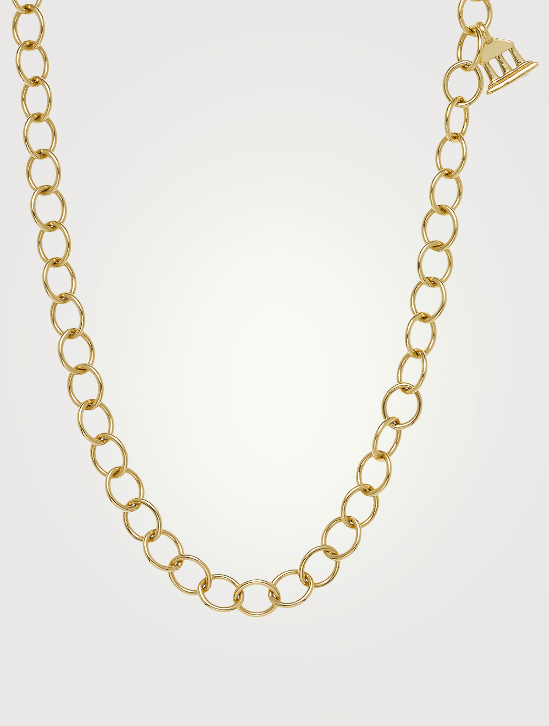 TEMPLE ST. CLAIR 18K Gold Classic Oval Chain Women's Gold