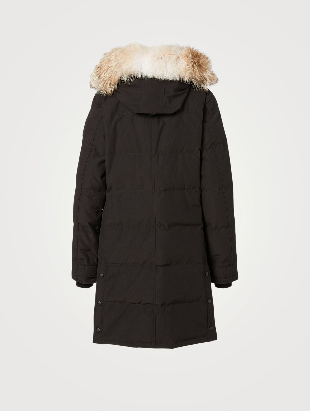 CANADA GOOSE Shelburne Black Label Down Parka With Fur Hood Women's Black
