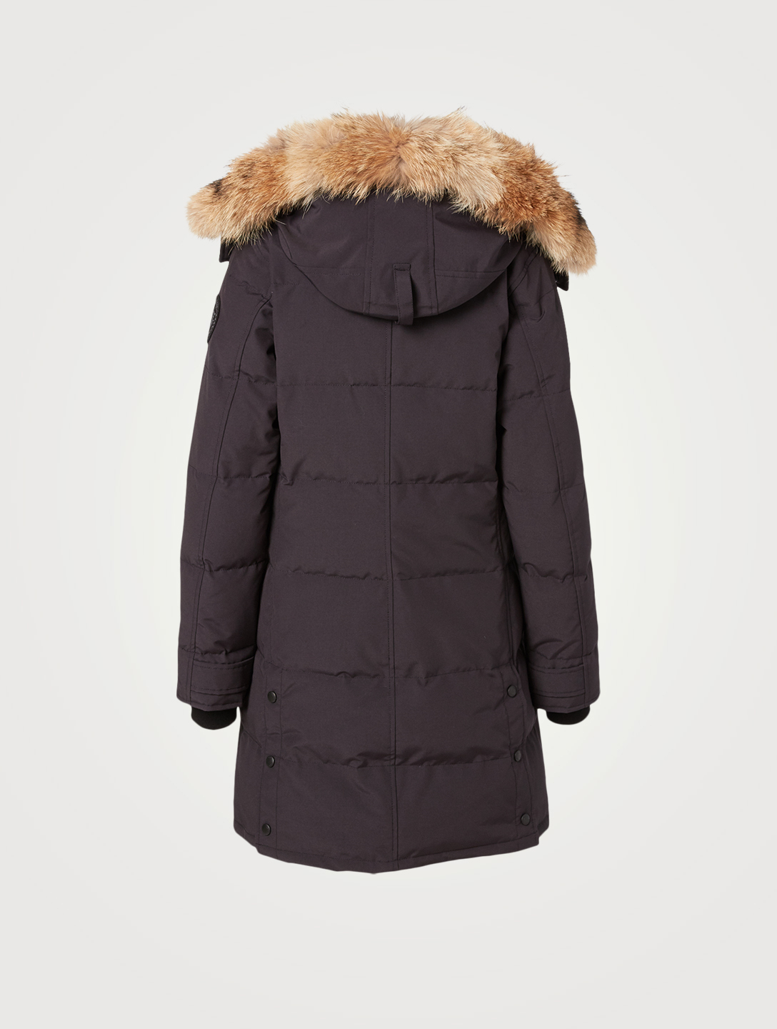 CANADA GOOSE Shelburne Black Label Down Parka With Fur Hood Women's Blue