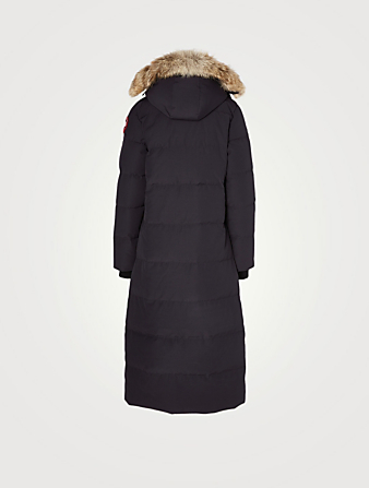 CANADA GOOSE Mystique Down Parka With Fur Hood Women's Blue