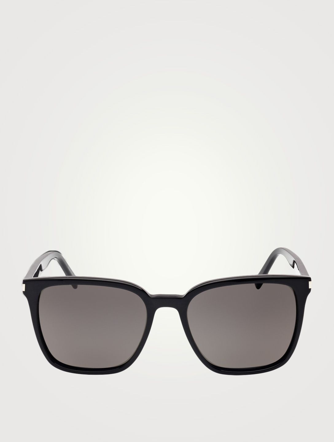SAINT LAURENT SL 93 Square Sunglasses Men's Black