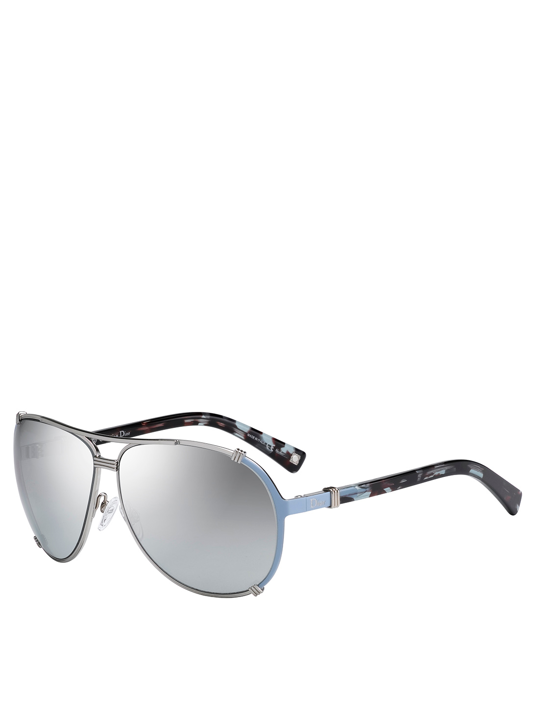 DIOR DiorChicago2 Aviator Sunglasses Women's Blue