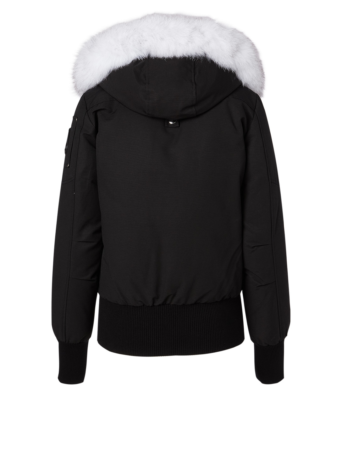 MOOSE KNUCKLES Debbie Down Jacket With Fur Hood Women's Black