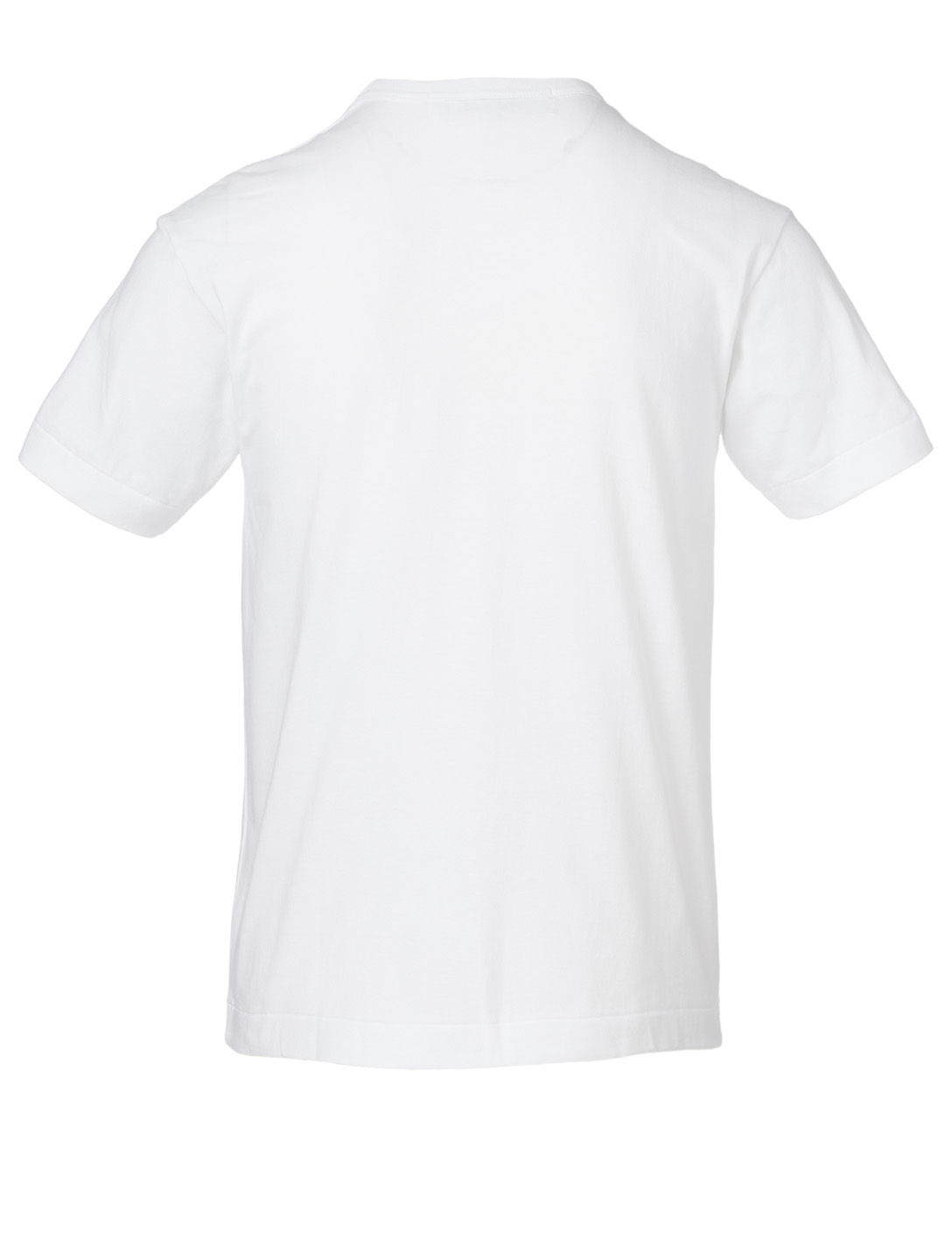 COMME DES GARÇONS PLAY Upside Down Logo T-Shirt Men's White