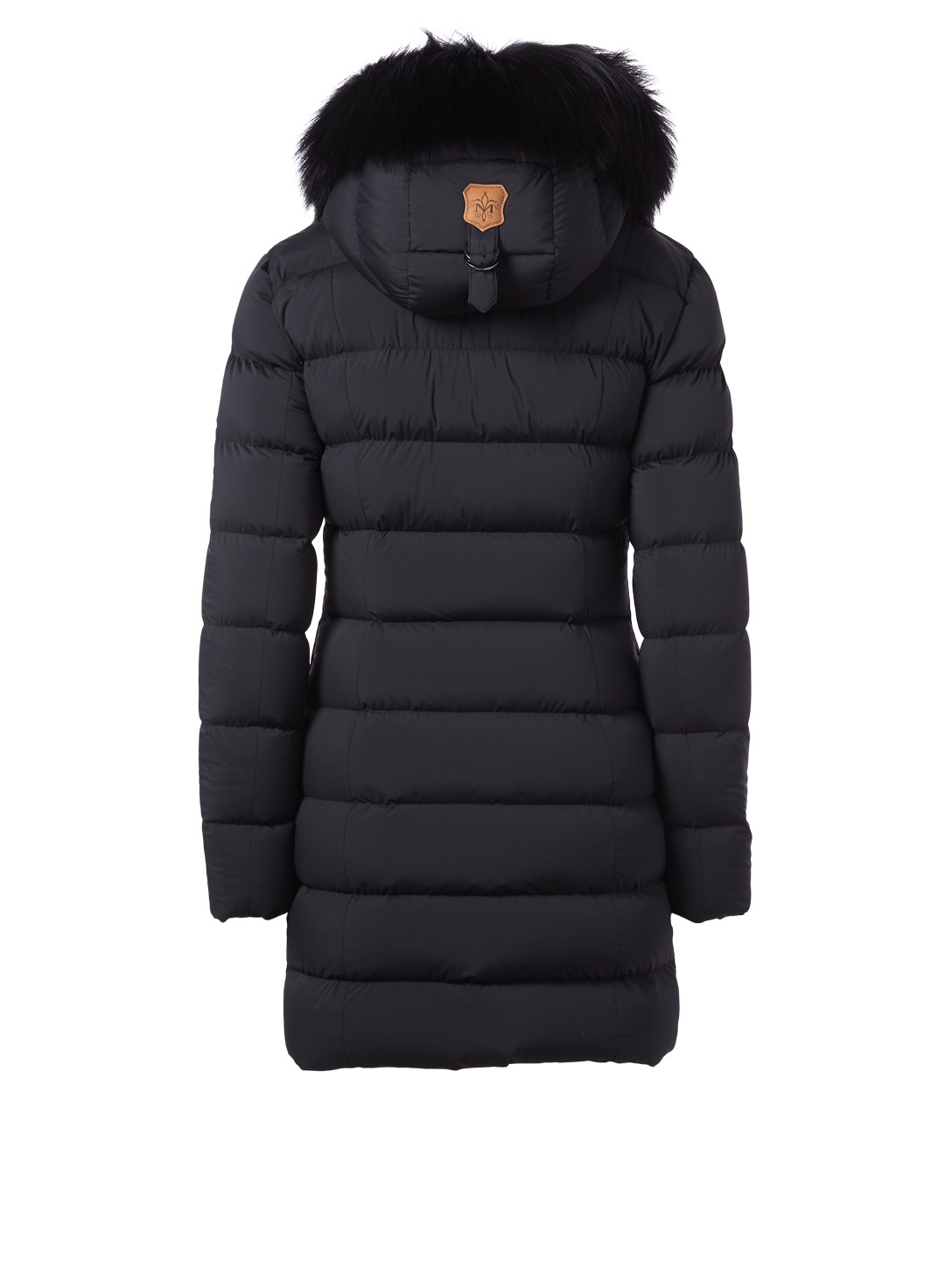 MACKAGE Calla Down Puffer Coat With Fur Hood Designers Black