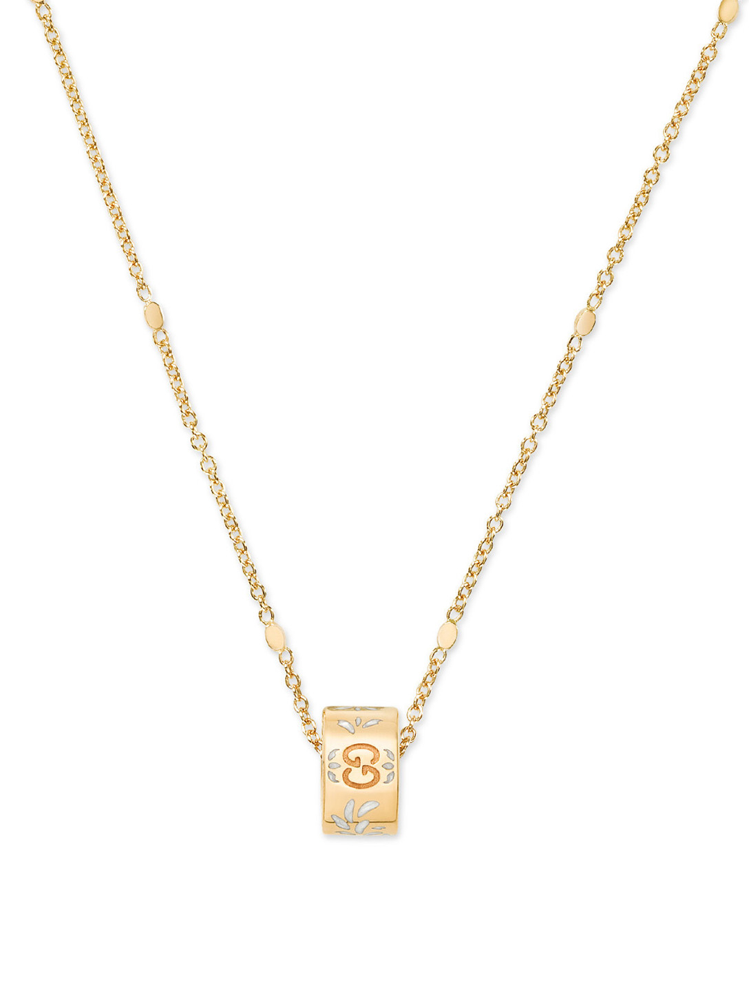 GUCCI Collier Icon Blooms en or 18 ct Femmes Or