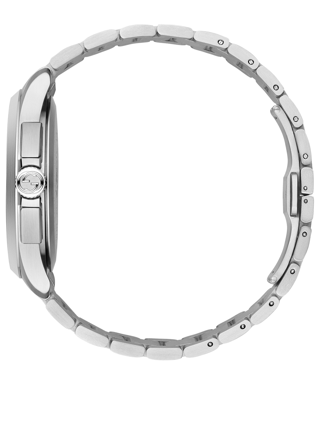 GUCCI G-Timeless Stainless Steel Bracelet Watch Women's Silver
