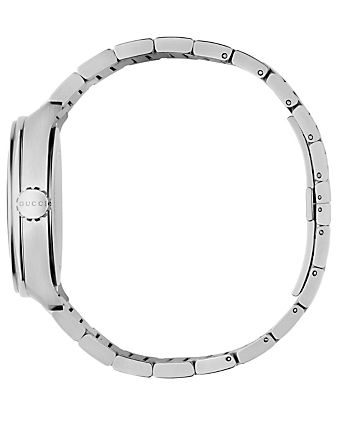 GUCCI GG2570 Steel Bracelet Watch Men's Silver