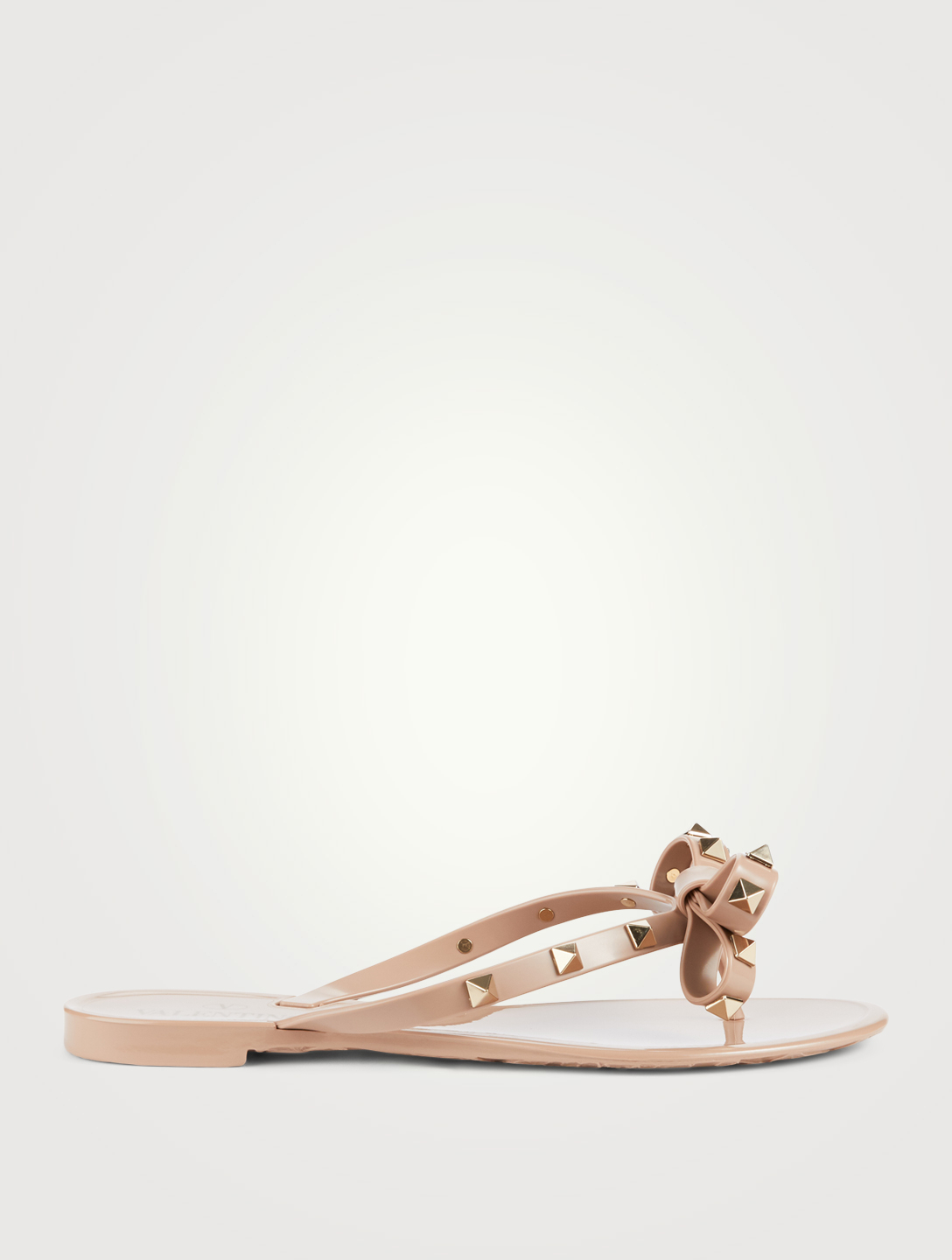 be1eb83ad5e VALENTINO Rockstud Jelly Thong Sandals