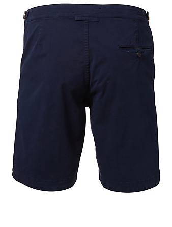 ORLEBAR BROWN Dane II Cotton Twill Longest Length Shorts Men's Blue