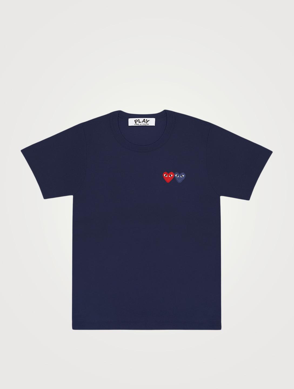 1625f062748d COMME DES GARÇONS PLAY Double Heart T-Shirt Women s ...