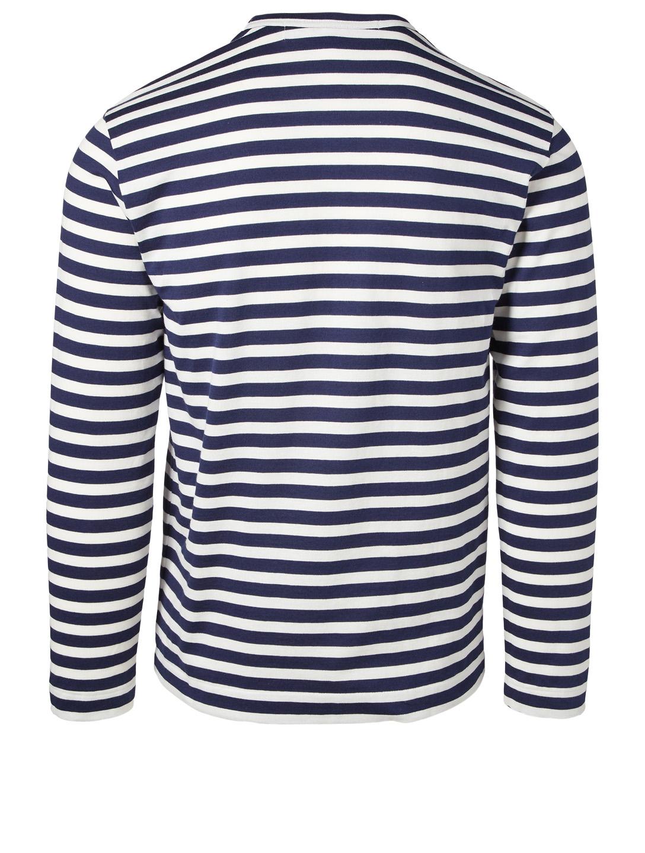 7325237682f8f COMME DES GARÇONS PLAY Long-Sleeve Striped T-Shirt | Holt Renfrew