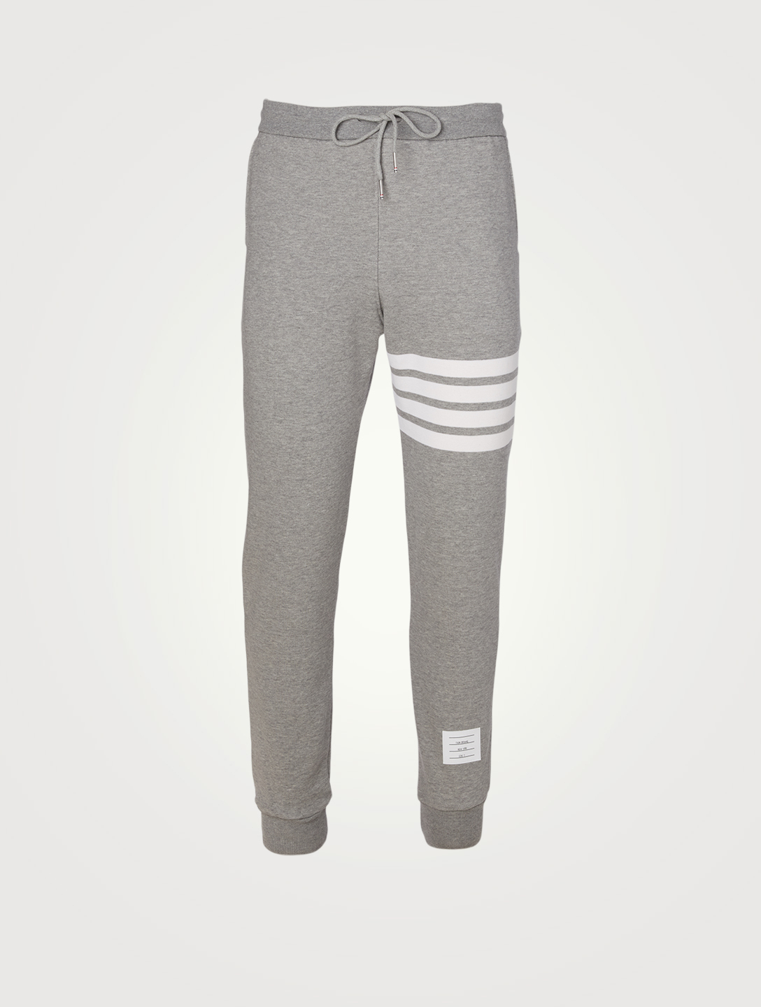 THOM BROWNE Four Bar Sweatpants Men's Grey