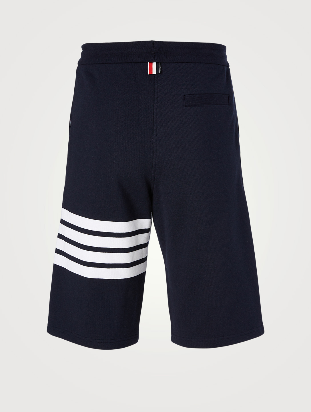 THOM BROWNE Four-Bar Jersey Shorts Men's Blue
