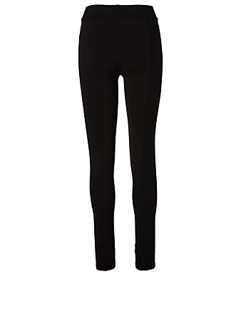 THE ROW Legging Relma en scuba Femmes Noir