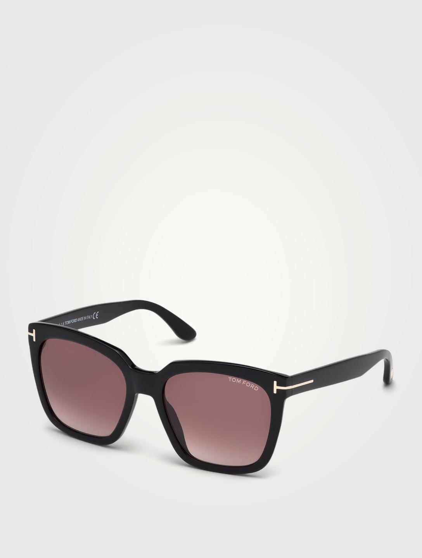 fb3d872ca8a19 TOM FORD Amarra Square Sunglasses