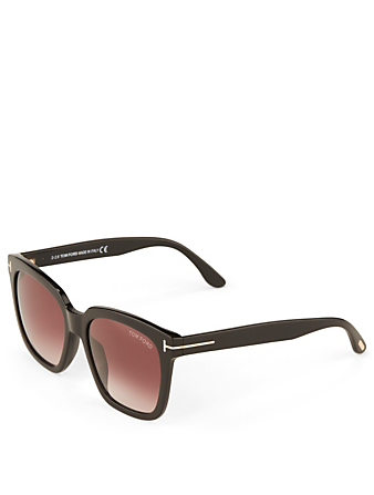TOM FORD Amarra Square Sunglasses Women's Black
