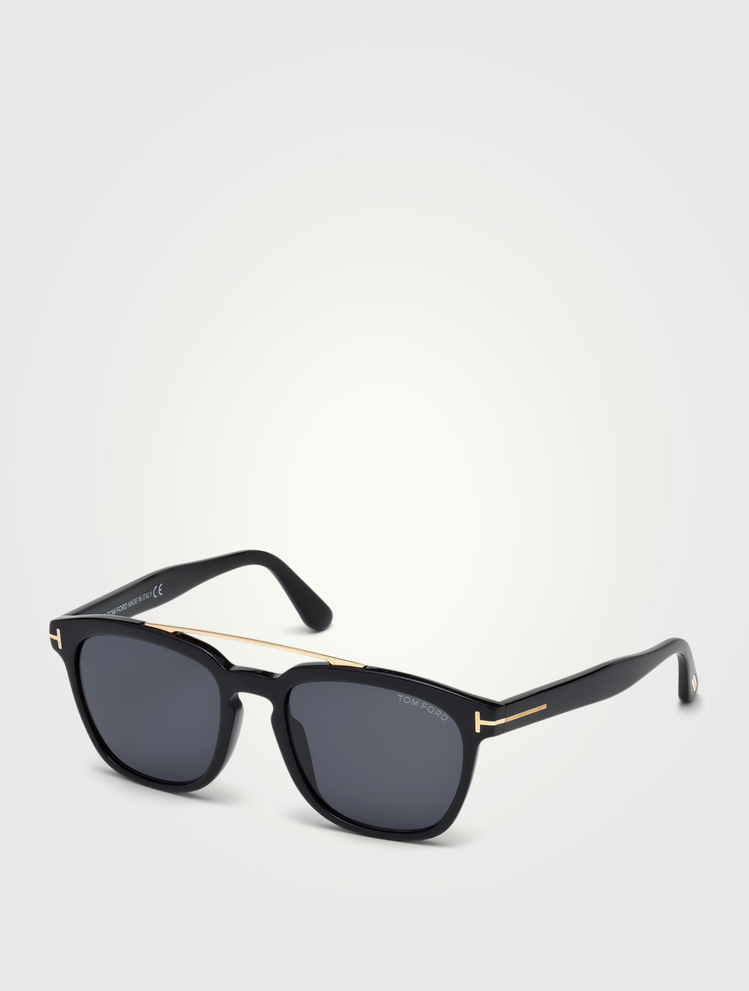 TOM FORD Holt Square Sunglasses Men's Black