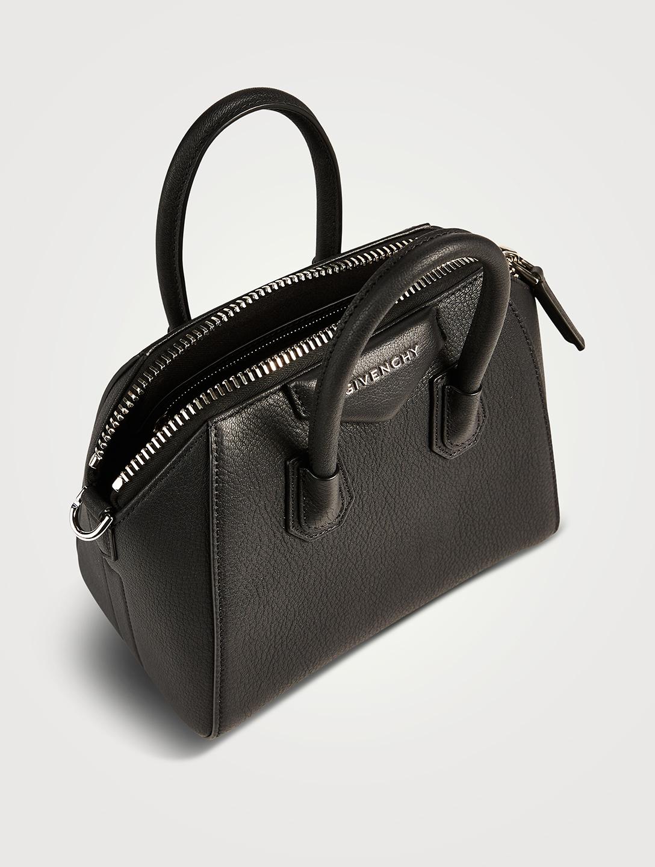 3a17c56bc4 ... GIVENCHY Mini Antigona Leather Bag Women's Black