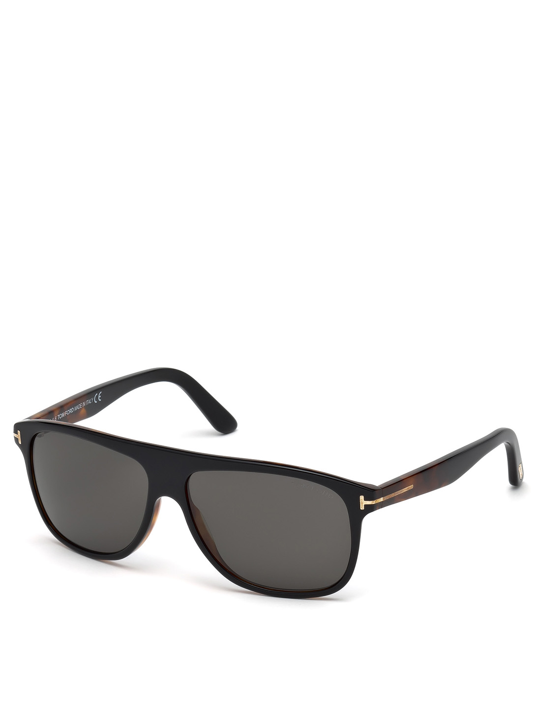TOM FORD Inigo Rectangular Sunglasses Men's Black