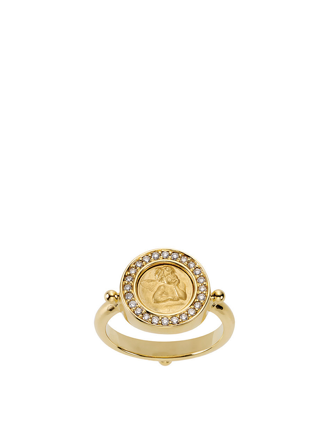 TEMPLE ST. CLAIR Bague Angel en or 18 ct ornée de diamants Femmes Or