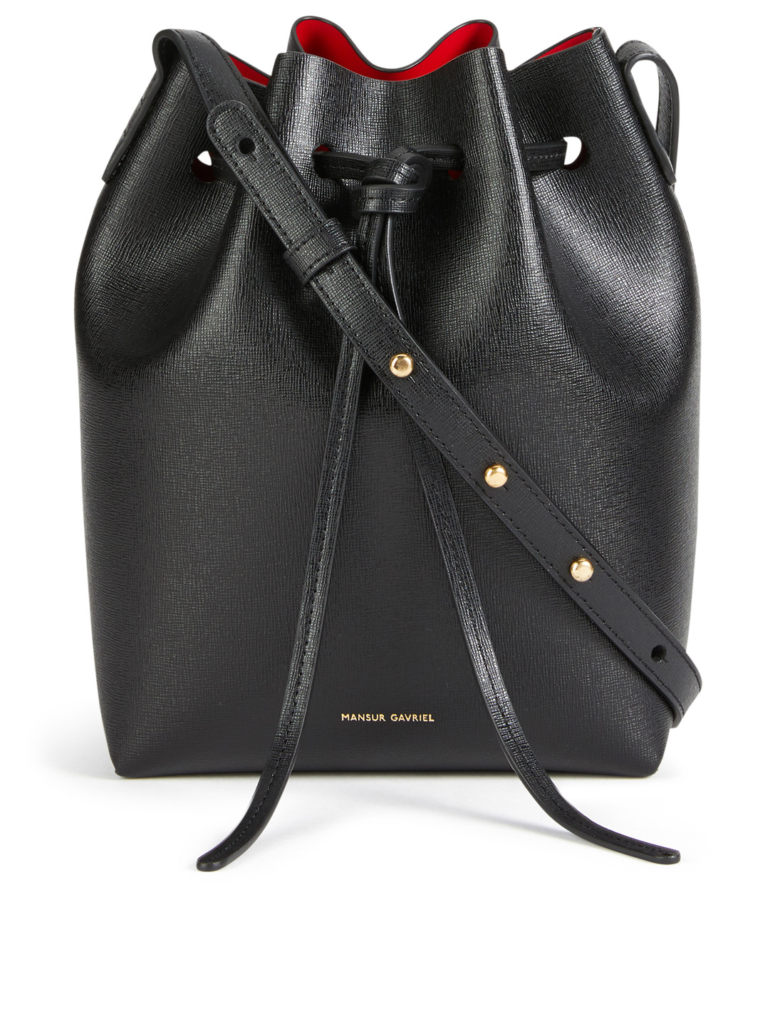 aab2d0bf540 MANSUR GAVRIEL Mini Saffiano Leather Bucket Bag | Holt Renfrew