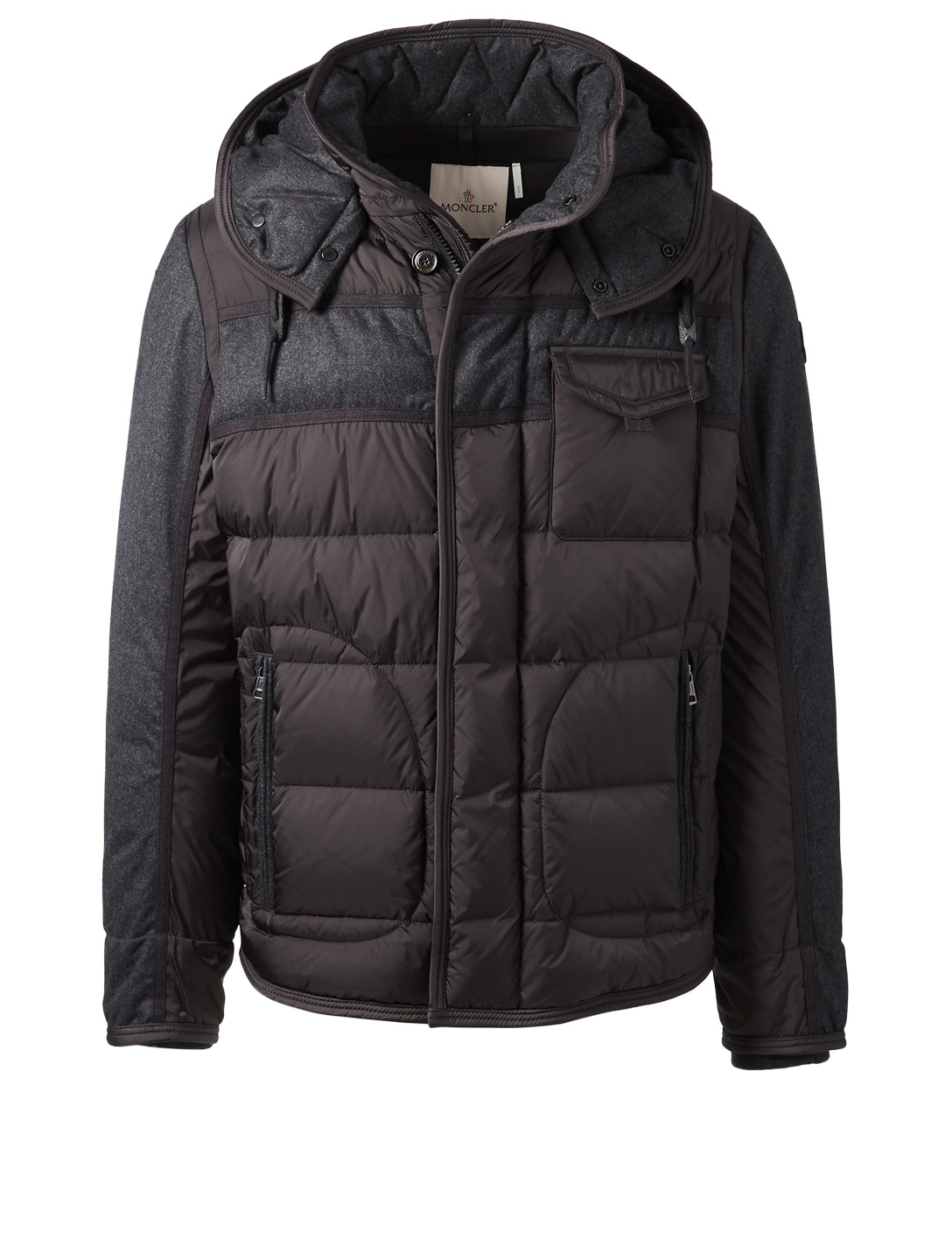 MONCLER Ryan Quilted Down Jacket Men's Grey