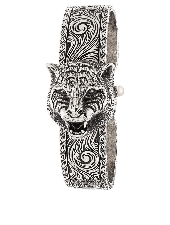 96cd6900a GUCCI Le Marché Des Merveilles Secret Bracelet Watch Women's Silver ...