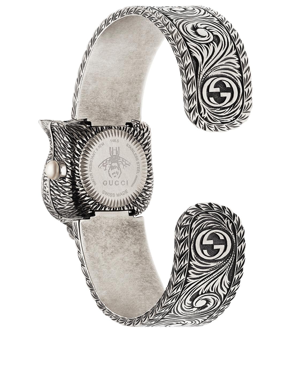 bad231a6521 ... GUCCI Le Marché Des Merveilles Secret Bracelet Watch Women s Silver