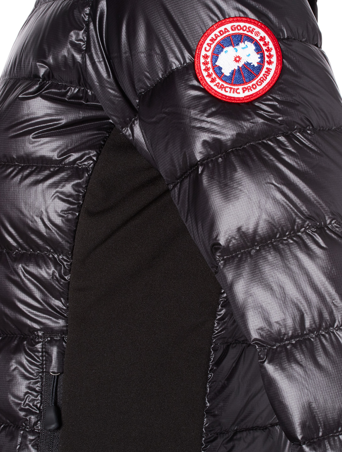 CANADA GOOSE HyBridge Lite Down Puffer Jacket Womens Black