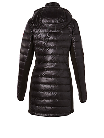 CANADA GOOSE HyBridge Lite Down Puffer Coat Womens Black