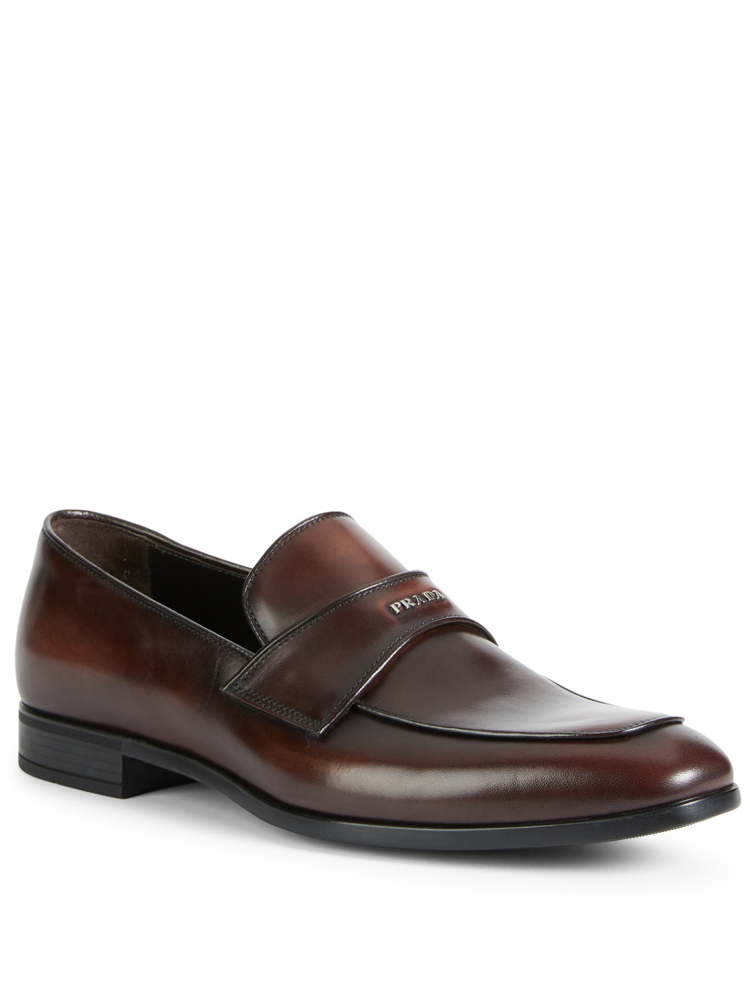 1ac52bf40bd hot prada apron toe penny loafers loafers 504572782 fa045 299e3  discount  code for prada vitello leather loafers mens brown 0ab53 8eaa8
