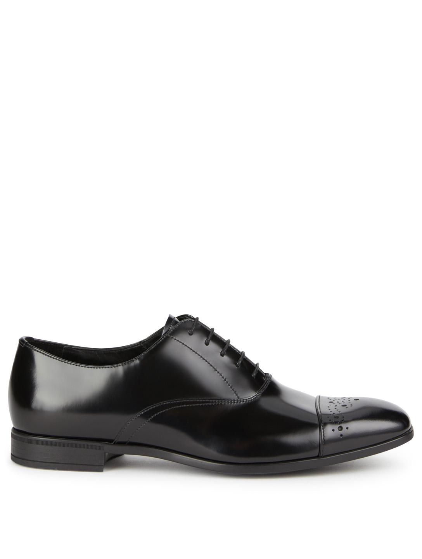 Holt Lacées En Renfrew Spazzolato Chaussures Richelieus Cuir W1PnXT