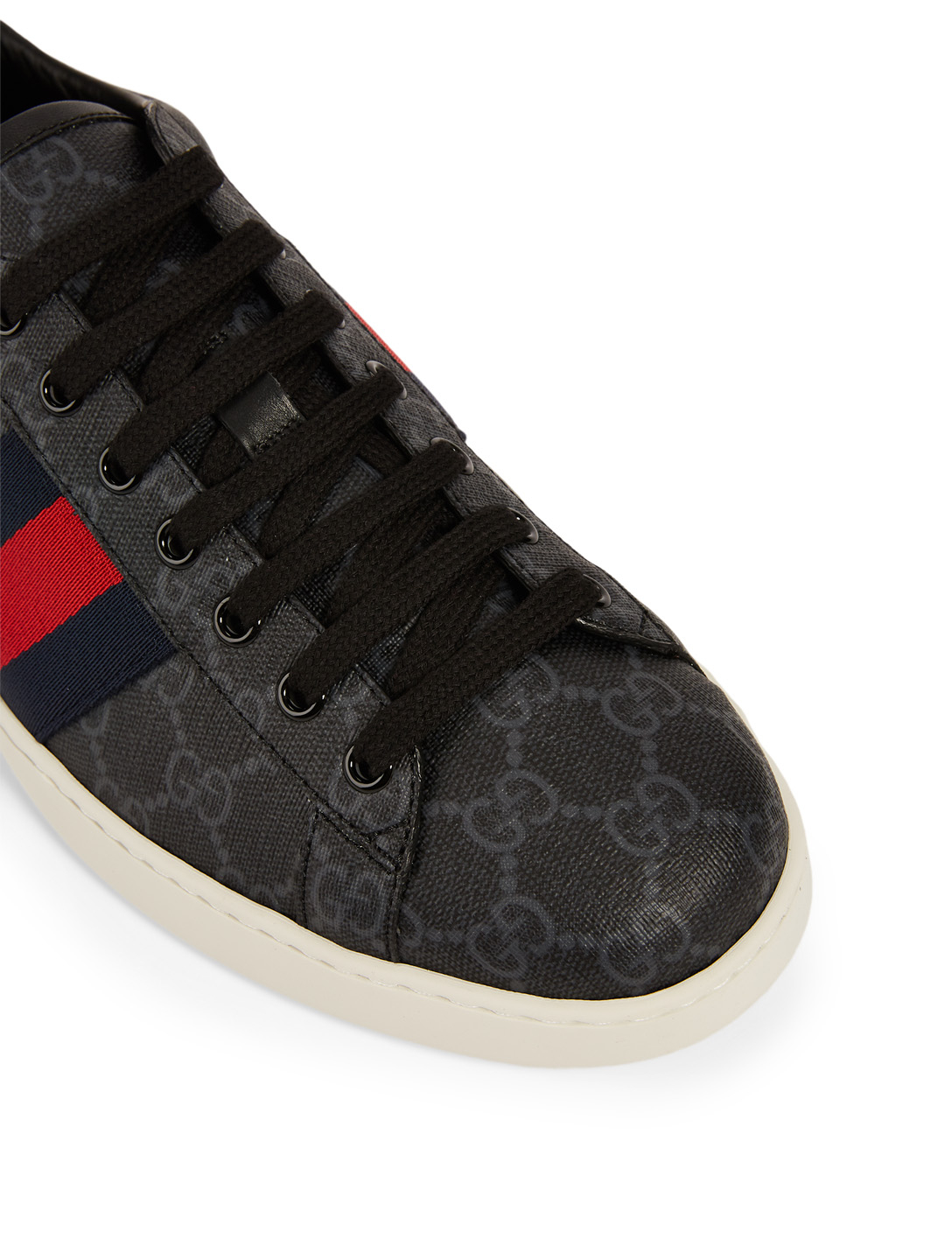 GUCCI Ace GG Supreme Sneakers Men's Black