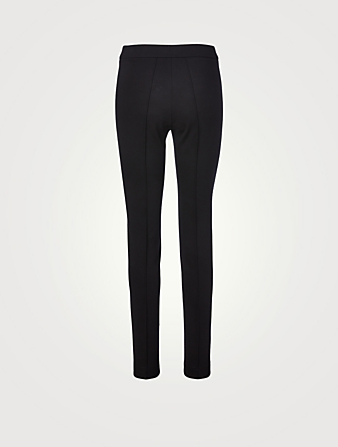 AKRIS PUNTO Mara Stretch Jersey Pants Women's Black