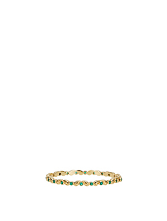 TEMPLE ST. CLAIR 18K Gold Arcadia Bracelet With Emeralds Women's Gold
