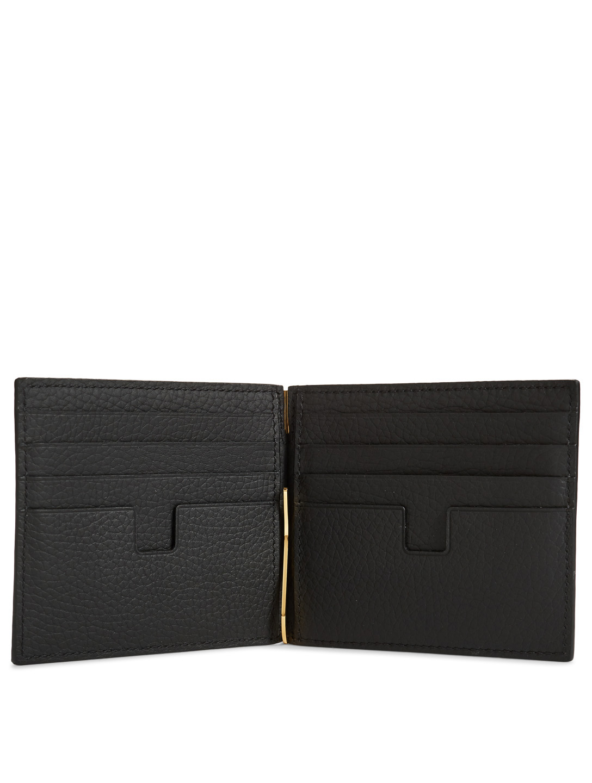 86c701c0db7 ... TOM FORD Leather T-Line Bifold Money Clip Wallet Men s Black