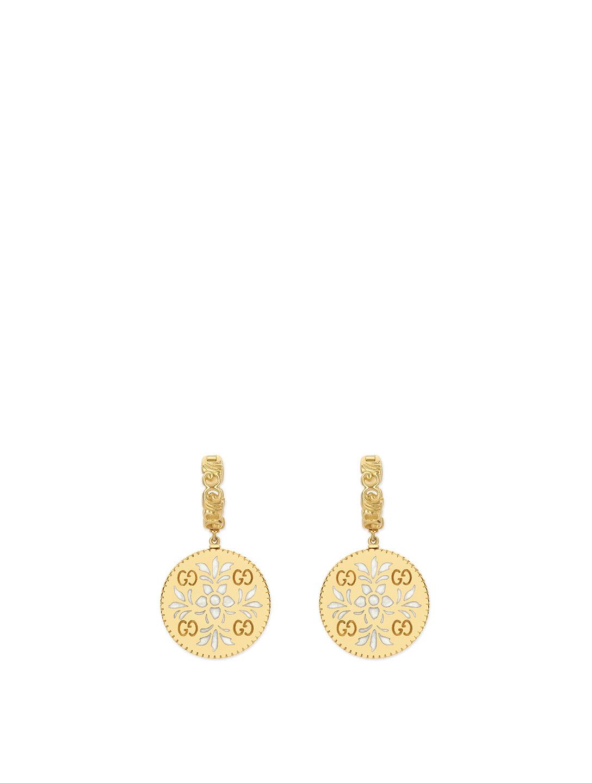 60a11b2f1 GUCCI Icon 18K Gold Drop Earrings | Holt Renfrew