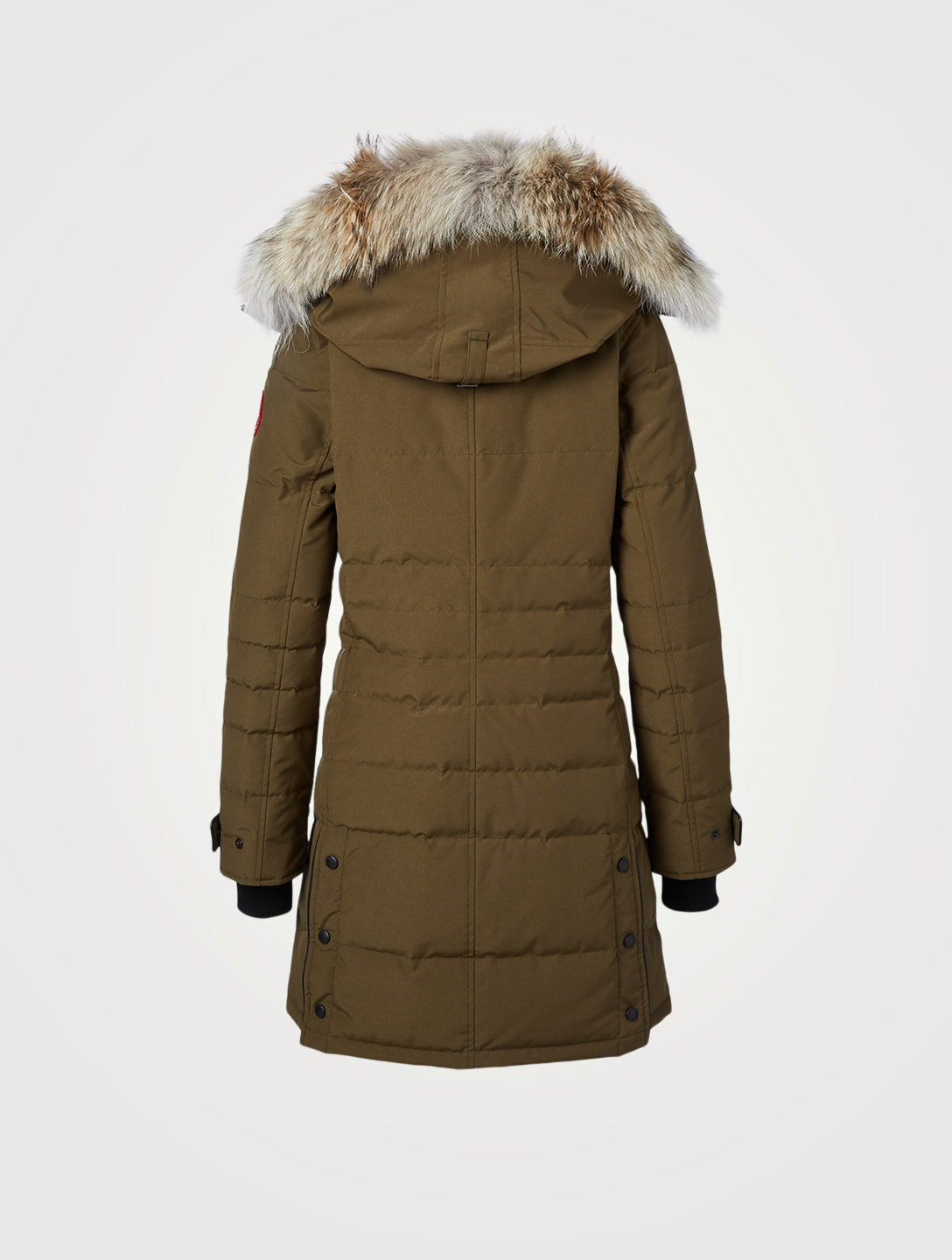 CANADA GOOSE Lorette Down Parka With Fur Women's Green