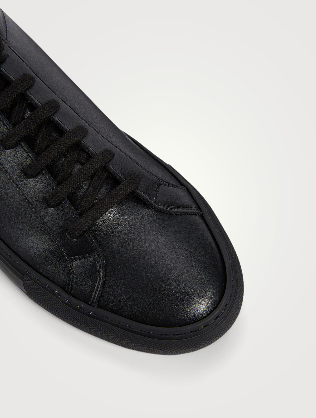COMMON PROJECTS Original Achilles Leather Sneakers Men's Black