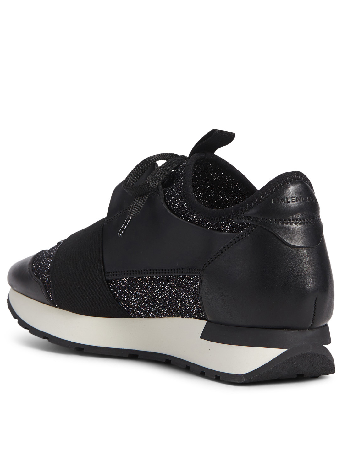 BALENCIAGA Racer Sneakers Womens Black