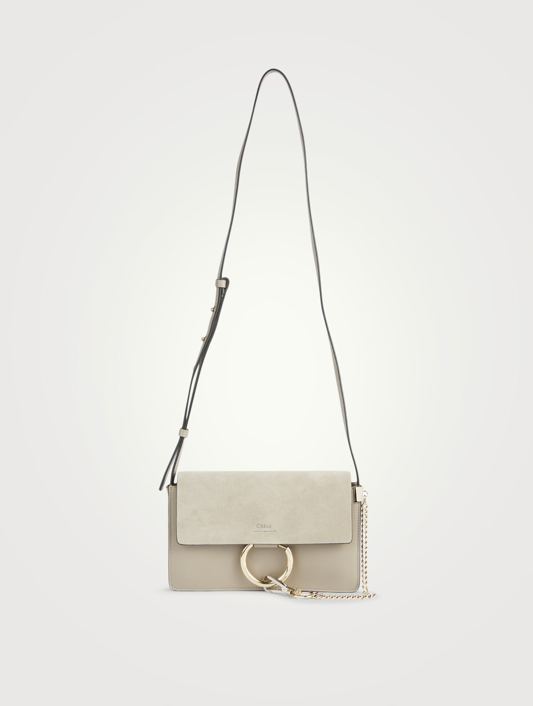 d2ffe29b29 CHLOÉ Small Faye Leather And Suede Crossbody Bag | Holt Renfrew