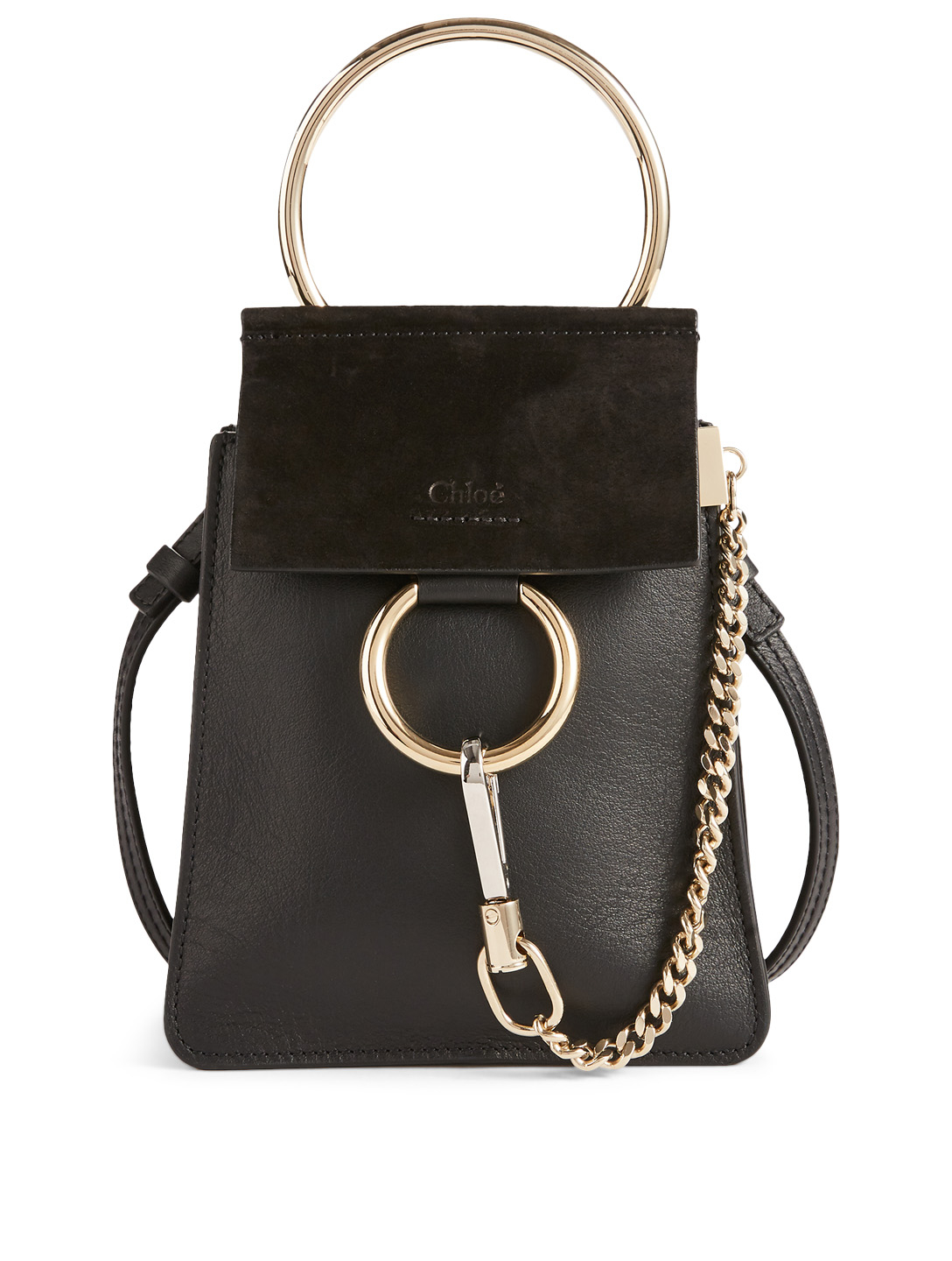 a956aaf3 CHLOÉ Small Faye Leather And Suede Bracelet Bag | Holt Renfrew
