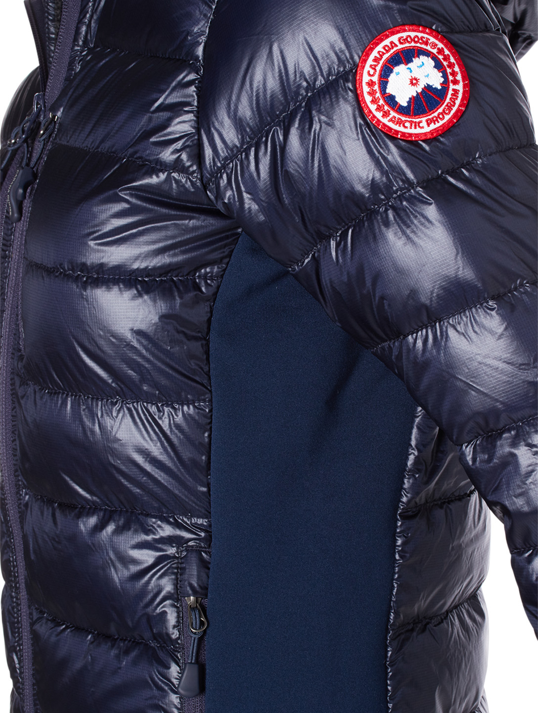 CANADA GOOSE HyBridge Lite Hoody Down Puffer Jacket Womens Blue
