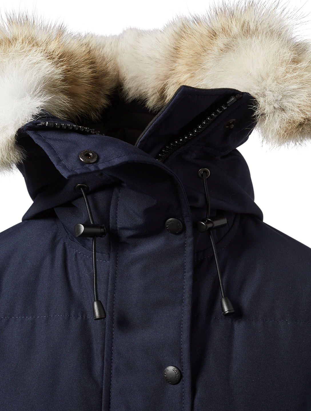CANADA GOOSE Shelburne Down Parka With Fur Womens Blue